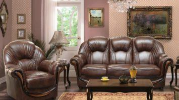 Кожаная мебель для дома и офиса